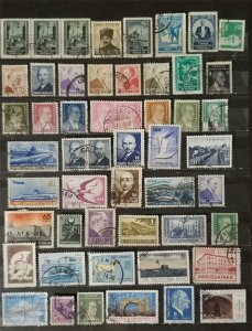 TURKEY Early Stamp Lot Used T2783