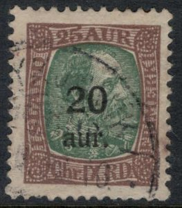Iceland #132  CV $10.00