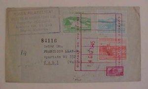 COLOMBIA  FDC 14 DEC 1945 BOGATA