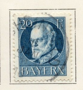 Bayern Bavaria 1914-18 Early Issue Fine Used 20pf. NW-120702