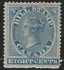 Canada Revenue Van Dam #F8 Mint Hinged Single Stamp (H4)
