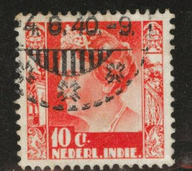 Netherlands Indies  Scott 173 used from 1934