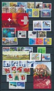 Switzerland 2009 Year set complete  MNH