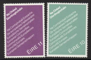 IRELAND SG439/40 1979 FIRST DIRECT ELECTIONS TO EUROPEAN ASSEMBLY MNH