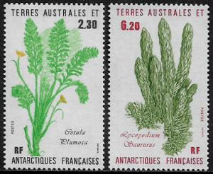 F.S.A.T. #121-2 MNH Set - Plants - Flowers