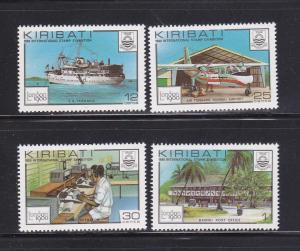Kiribati 352-355 Set MNH Various (B)