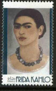 MEXICO 2228, Frida Kahlo, Painter. MINT, NH. F-VF.