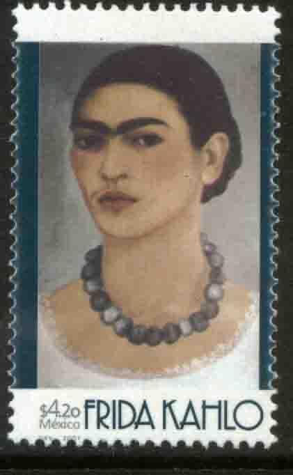 MEXICO 2228, Frida Kahlo, Painter. MINT, NH. F-VF.