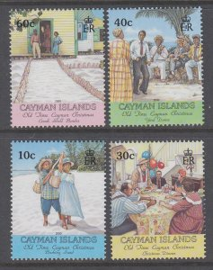 Cayman Islands 810-813 Christmas MNH VF