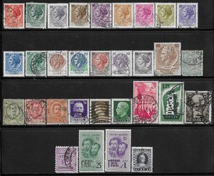 Italy 31 different mint/used stamps mini collection @ a nickel a stamp - 12348