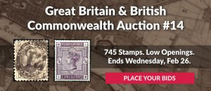 The 14th Great Britain & Commonwealth Auction
