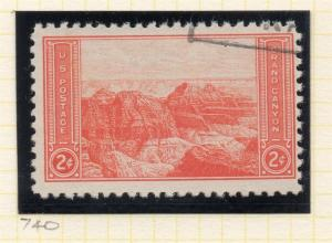 United States 1934 Early Issue Fine Used 2c. 315599