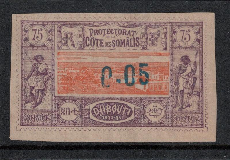 Somali Coast 1902 SC 24 Mint SCV $80.00 Set