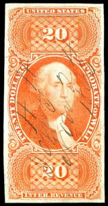 U.S. REV. FIRST ISSUE R99a  Used (ID # 96886)