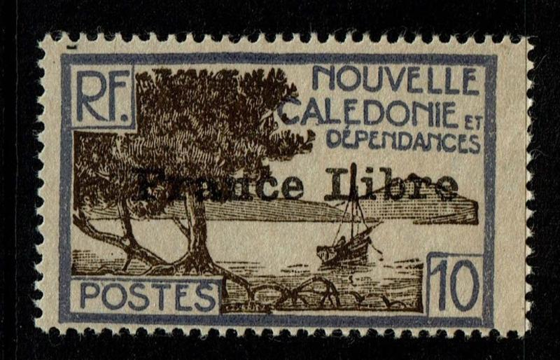 New Caledonia SC# 222, Mint Lightly Hinged - Lot 112216