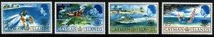 CAYMAN ISLANDS QE II 1967 International Tourist Year Set SG 205 to SG 208 MNH