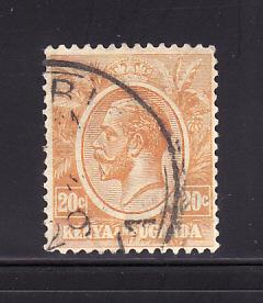 Kenya, Uganda, Tanzania 25 U King George V (A)