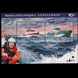 FINLAND 2012 - Scott# 1408 S/S Rescue Boats NH