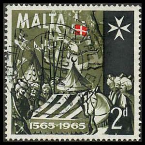 Malta 334 Used VF