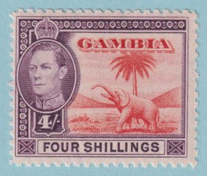 GAMBIA 141 MINT NEVER HINGED OG*  NO FAULTS EXTRA FINE