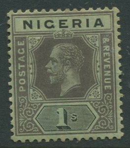 STAMP STATION PERTH Nigeria #8 KGV Definitive MH 1914-27