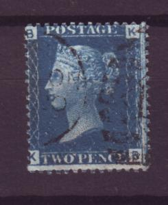 J13836 JLstamps 1858-69 great britain used #29 plate 12 $135.00 scv