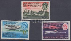 Rhodesia & Nyasaland stamp 30th anniversary of flight connection London WS135096