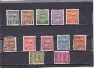 Germany(Saxony) Michel 73x-84y MNH, Mint Hinged & used (See below for more info)