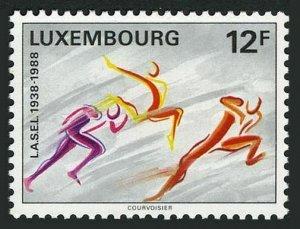 Luxembourg 791 block/4,MNH.Mi 1203. League of Student Sport Associations,1988.