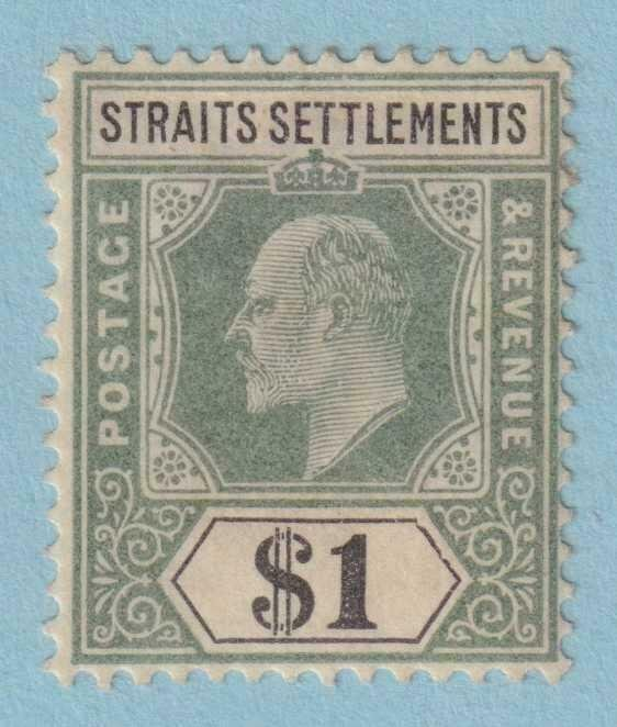 STRAITS SETTLEMENTS 102 MINT HEAVY HINGED OG NO FAULTS VERY FINE