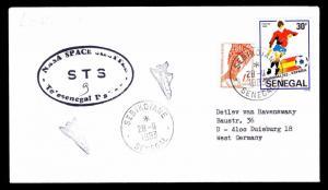 1983 LAUNCH COLUMBIA STS-9 - TELESENEGAL DAKAR TRACKING STATION (ESP#2816)