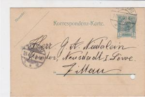 Austria 1905 Zittau Cancel  Stamps Card ref R 19435