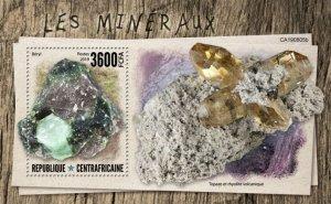 C A R - 2019 - Minerals - Perf Souv Sheet  - M N H