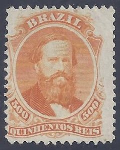 Brazil scott #60 Unused NG F-VF
