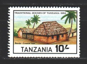 Tanzania. 1984. 253 from the series. Architecture. MNH.