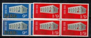 Ireland Scott 270-271 Mint NH blocks (Catalog Value $32.00)