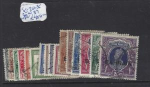 BAHRAIN  (P2302B)  ON INDIA KGVI   SET  SG 20-35   VFU