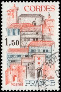 FRANCE 1980 Yv.2081 / Mi.2201 1fr50 Cordes (Tarn) - VFU