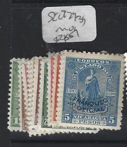 NICARAGUA  (P0701B)   OFFICIAL  SC  O229-39   MOG