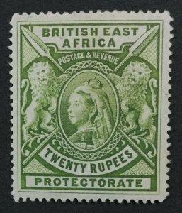 MOMEN: EAST AFRICA SG #98 1897 CROWN CC MINT OG H LOT #193108-1775
