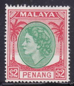 Malaya-Penang 54 Mint Hinged ! scv $ 19 ! see pic !