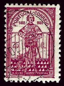 Portugal Sc#537 Used Fine SCV $21.00...nice bargain!!