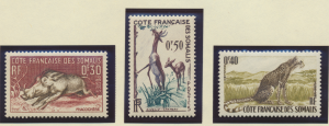 Somali Coast (Djibouti) Stamps Scott #271 To 273, Mint Lightly Hinged - Free ...