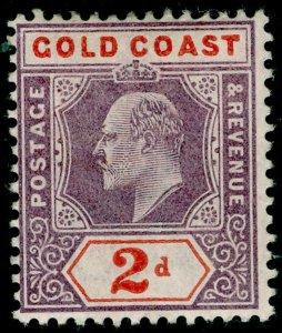 GOLD COAST SG40, 2d dull purple & orange-red, M MINT. Cat £48. WMK CA