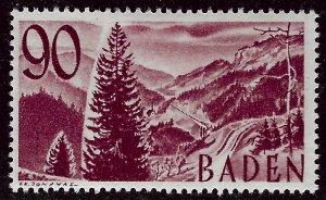 Baden French Zone SC 5N40 Unused VF....Specialty Bargain!!