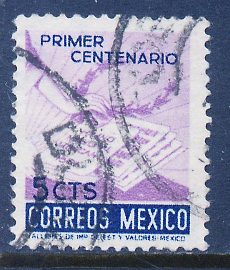 MEXICO 887 5c Centenary of the National Anthem. Used. (276)