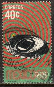 MEXICO 997, 40c 1968 Olympics, Mexico City. Used.F-VF.  (988)