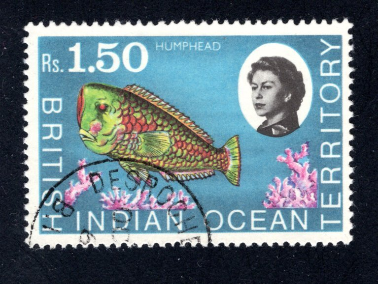 British Indian Ocean Territory, Scott 29  VF,  Used, CV $2.75 ..... 0870023