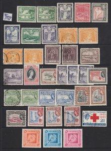 British Guiana a M&U lot KGVI to early QE2
