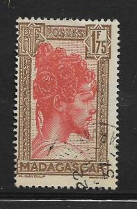 MADAGASCAR, 166, USED, SAKALAVA CHIEF